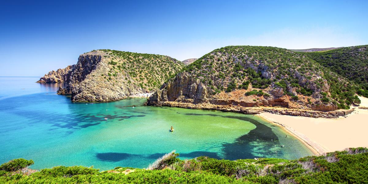 Camperreis Sardinie