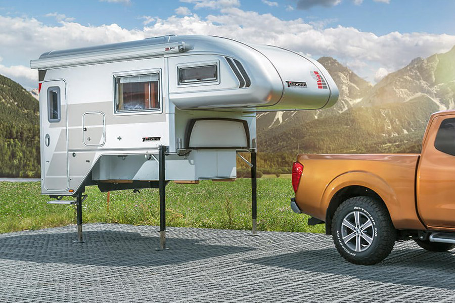 pickup camper unit