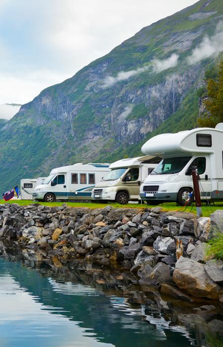 camperreis Noorwegen