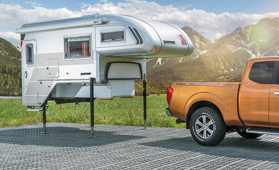 pick up camper unit