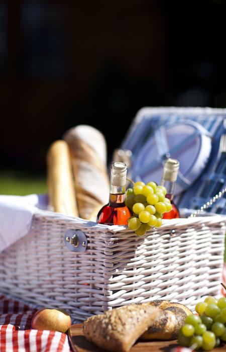 picknicken tijdens camperreis