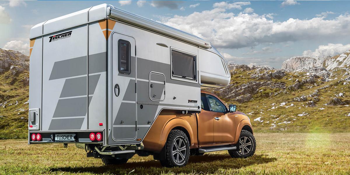 pickup camper unit