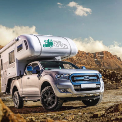 Off road ford ranger als 4x4 camper