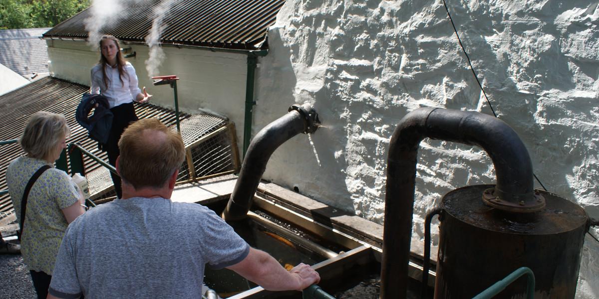 Rondleiding bij Whisky stokerij in Schotland
