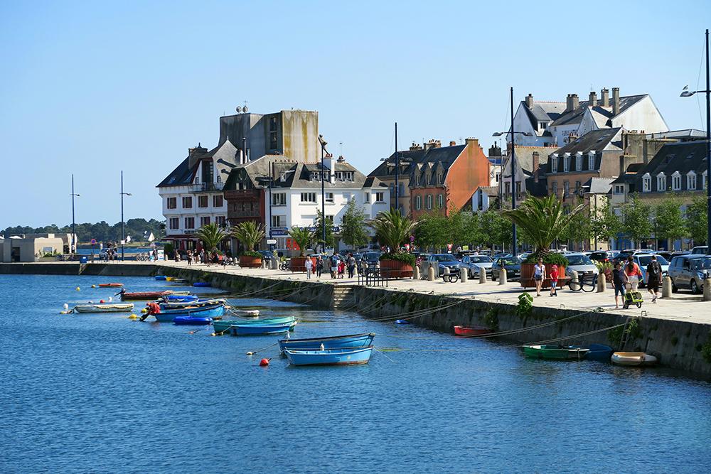 Concarneau in Frankrijk