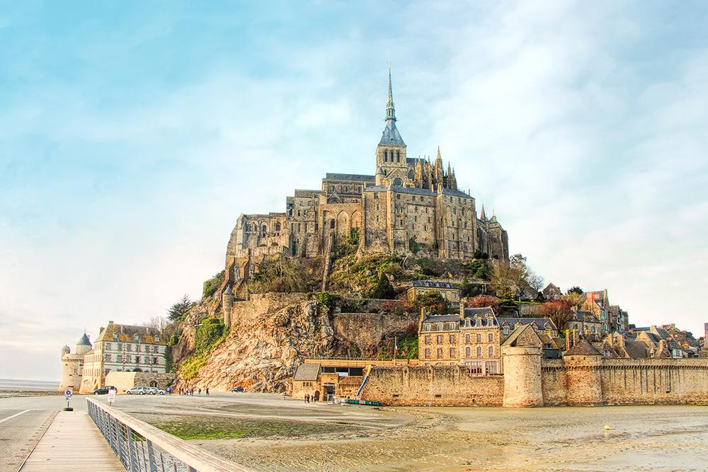 le-Mont-Saint-Michel in Frankrijk