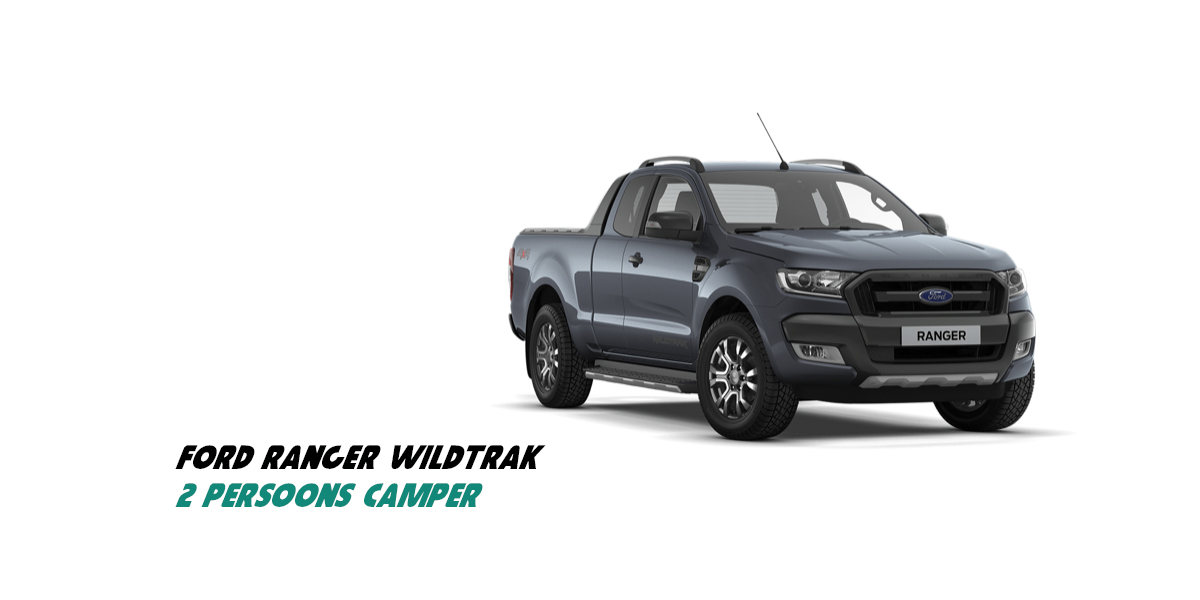 2 persoons 4x4 auto Ford Ranger