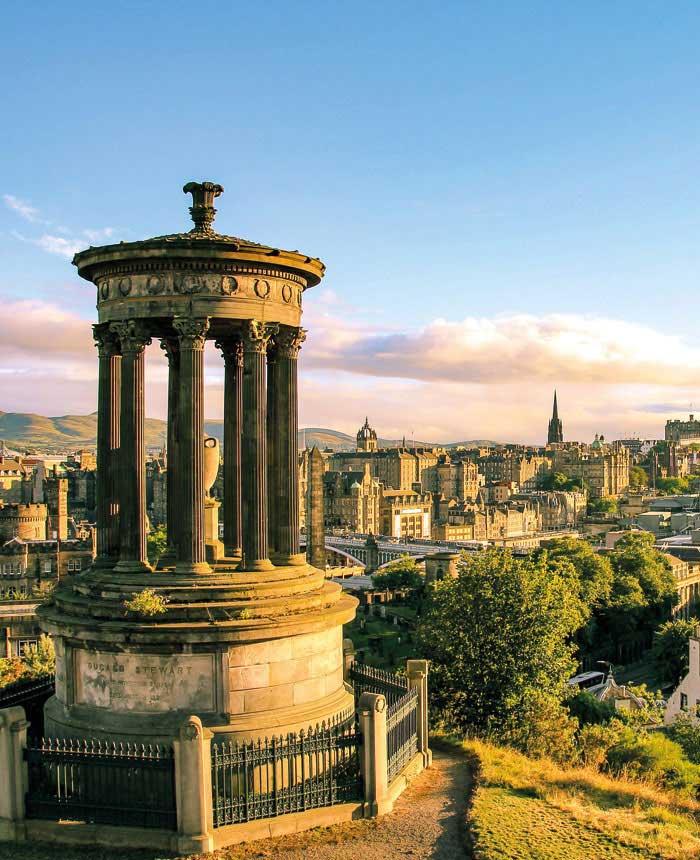 Foto van Edinburgh Schotland