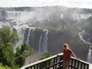 Prachtige watervallen met Ellen Nijkamp