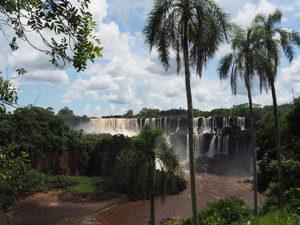 Watervallen Iguazu vanuit Argentinie