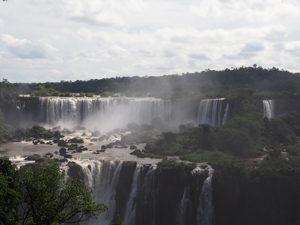 Iguazu watervallen met uitzicht van bovenaf