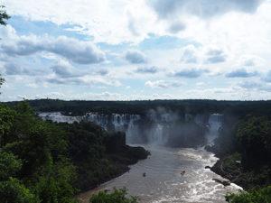 Indrukwekkende watervallen in Iguazu