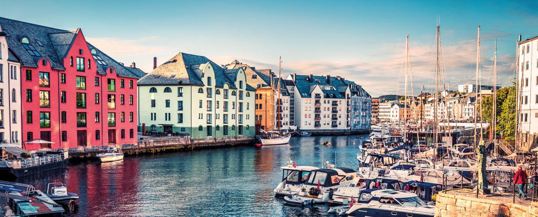 Camperreis Noordwegen prachtige haven