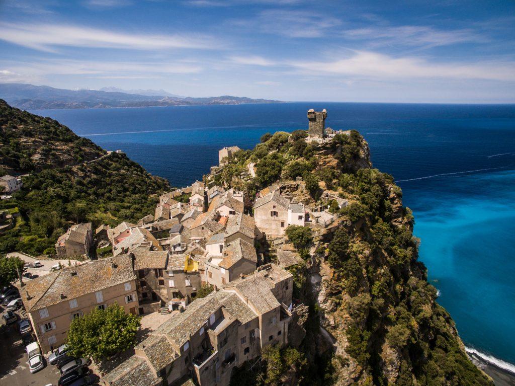 Cap Corse op Corsica