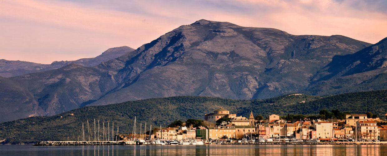 St Florent op Corsica