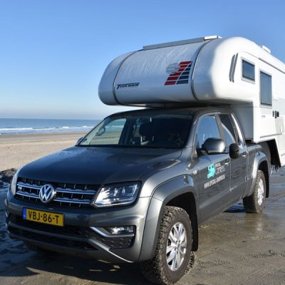 Special Camper op het strand