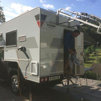 Wildkamperen in Duitsland met 4x4 camper