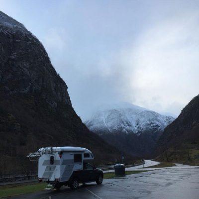 Onderweg met 4x4 camper in Noorwegen