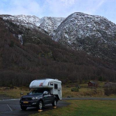 met 4x4 camper Noorwegen ontdekken
