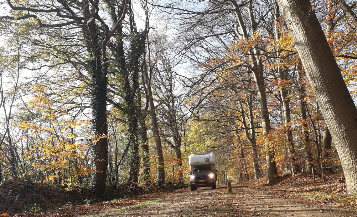 Special Campers in de Nederlandse bossen