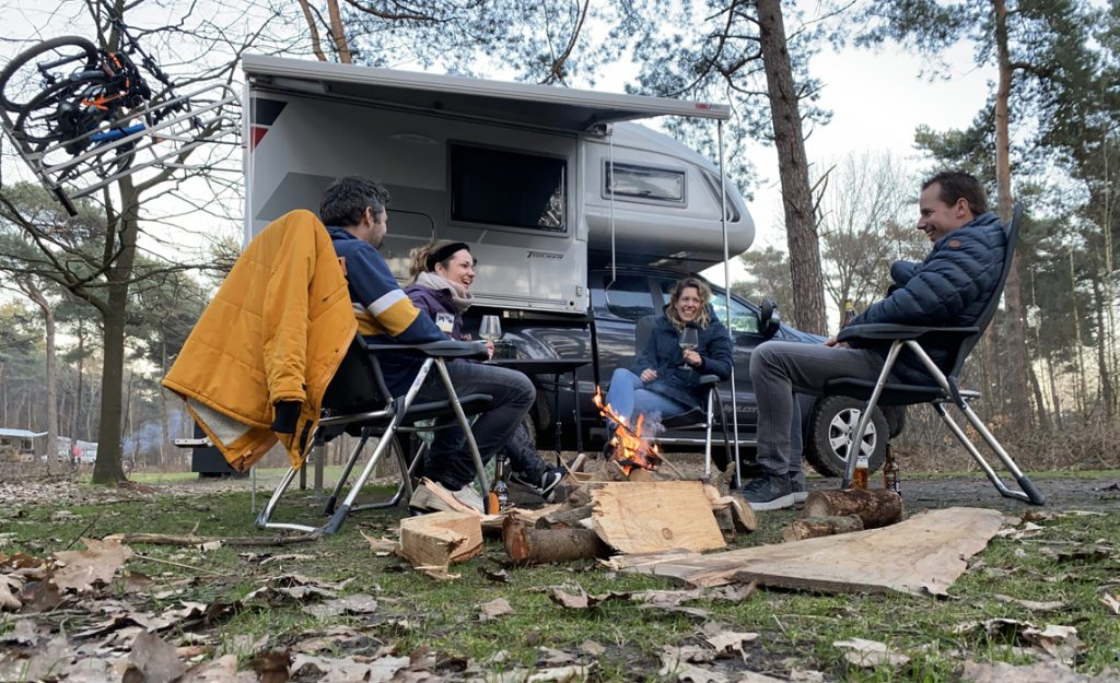 4x4 camper in Nederland