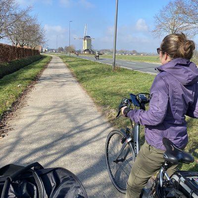 Op de fiets in Brabant