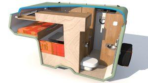 Amarok Traveller ruime wc